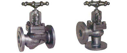 SG IRON GLOBE STEAM STOP VALVE : IBR CERTIFIED